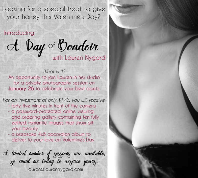 A Day Of Boudoir Lauren Nygard Photography