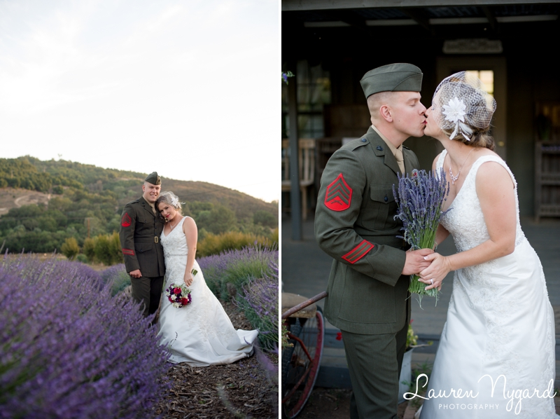 Angie & DJ - Keys Creek Lavender Farm Wedding by San Diego Wedding Photographer Lauren Nygard  https://laurennygard.com
