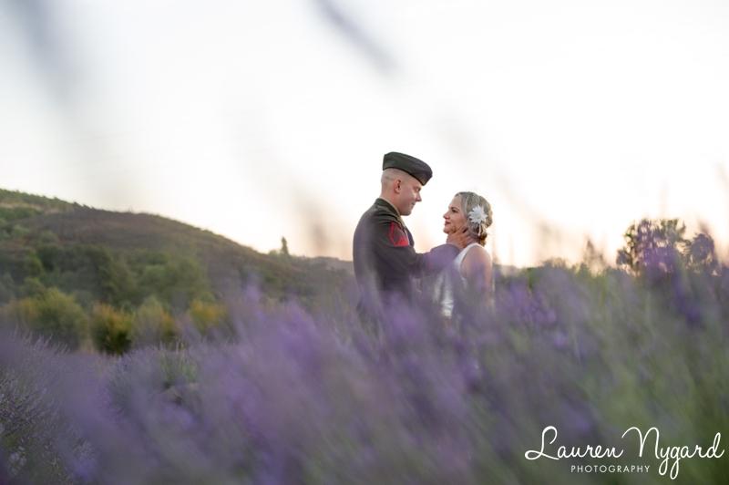 Angie & DJ - Keys Creek Lavender Farm Wedding by San Diego Wedding Photographer Lauren Nygard  http://laurennygard.com