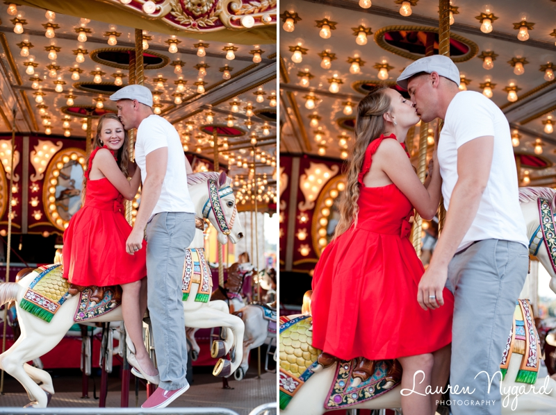 San Diego County Fair Engagement Session by Lauren Nygard Photography https://laurennygard.com