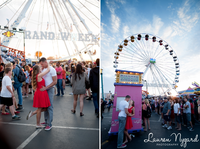 San Diego County Fair Couples Session by photographer Lauren Nygard http://laurennygard.com