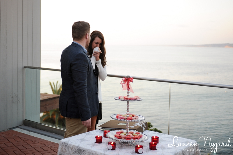 San Diego Engagement Proposal Photography by wedding photographer Lauren Nygard
