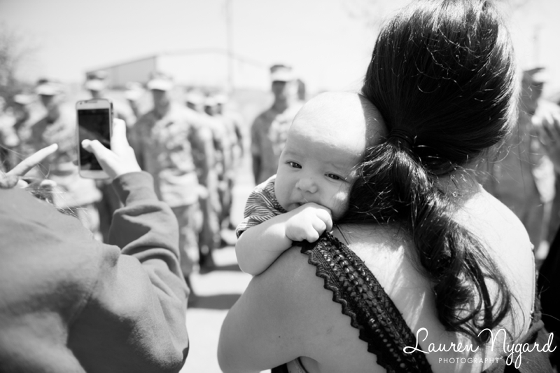 Camp Pendleton Homecoming Photography by San Diego photographer Lauren Nygard