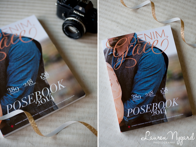 Denim and Grace Magazine published photos by San Diego Portrait Photographer Lauren Nygard