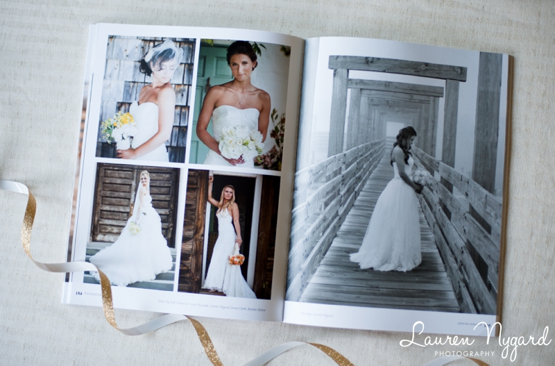 Denim and Grace Magazine published photos by San Diego Wedding Photographer Lauren Nygard