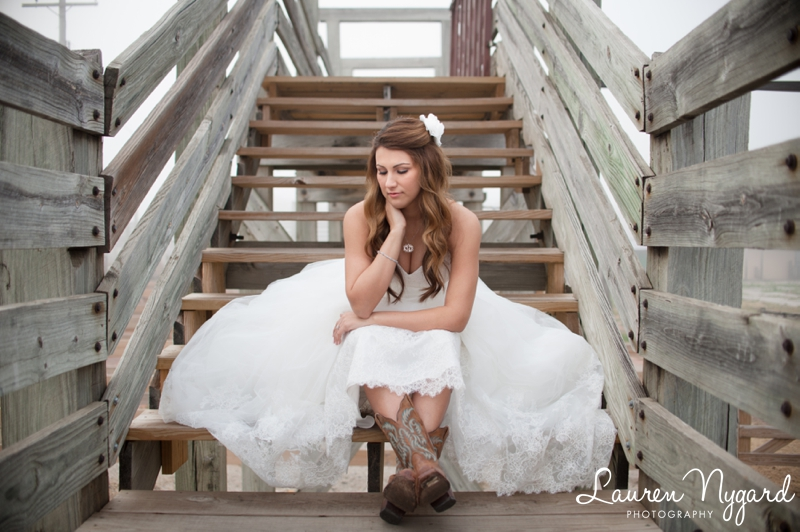 Ft. Worth Stockyards Bridal Portraits by wedding photographer Lauren Nygard Photography