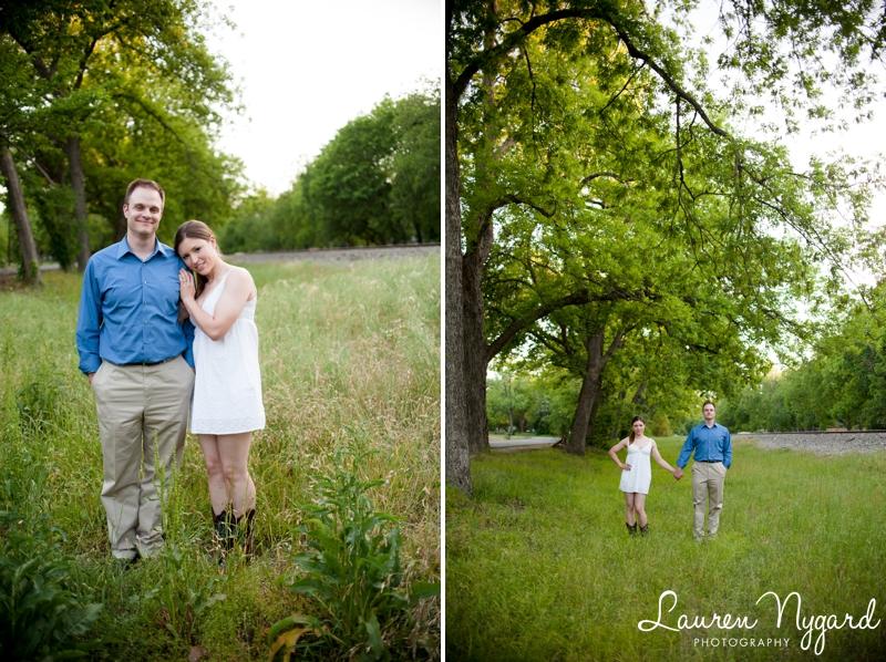 Dallas Texas engagement session by San Diego wedding photographer Lauren Nygard