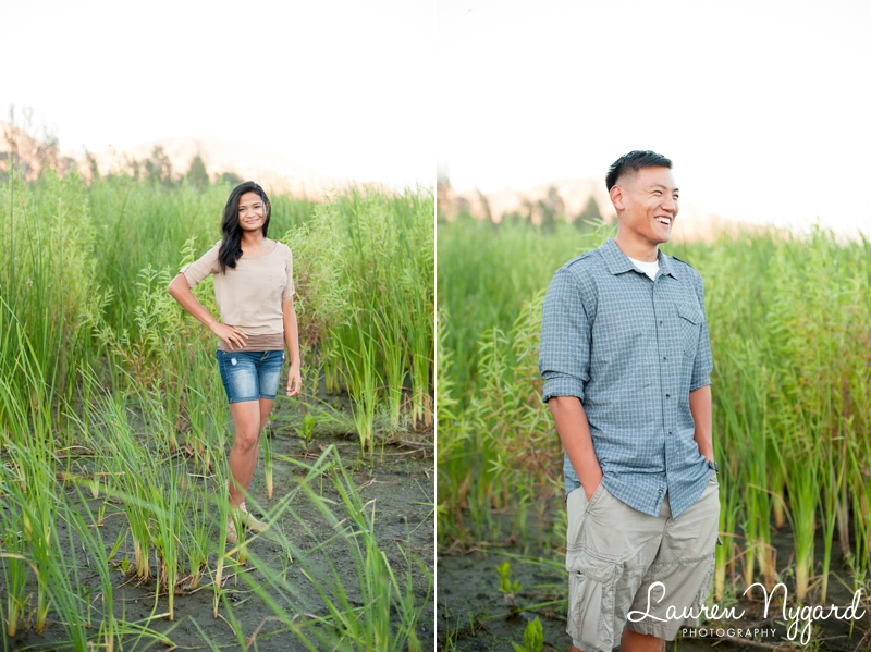 Lake Hodges Engagement Session by San Diego Wedding Photographer Lauren Nygard