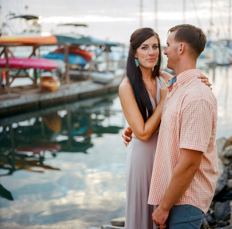 Oceanside Harbor portrait session from San Diego film photographer Lauren Nygard