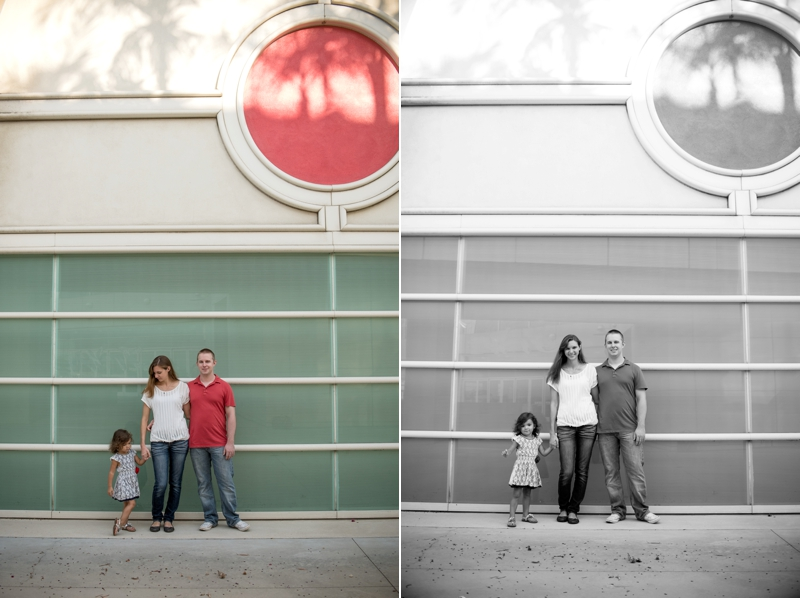 San Diego family portrait session from Southern California wedding photographer Lauren Nygard
