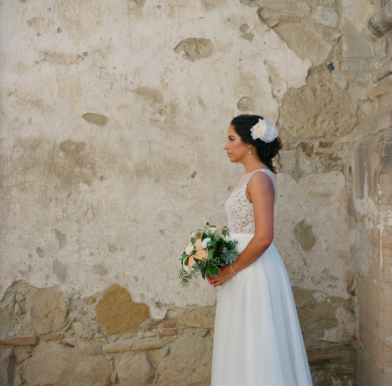 Mission San Juan Capistrano wedding from San Diego wedding photographer Lauren Nygard