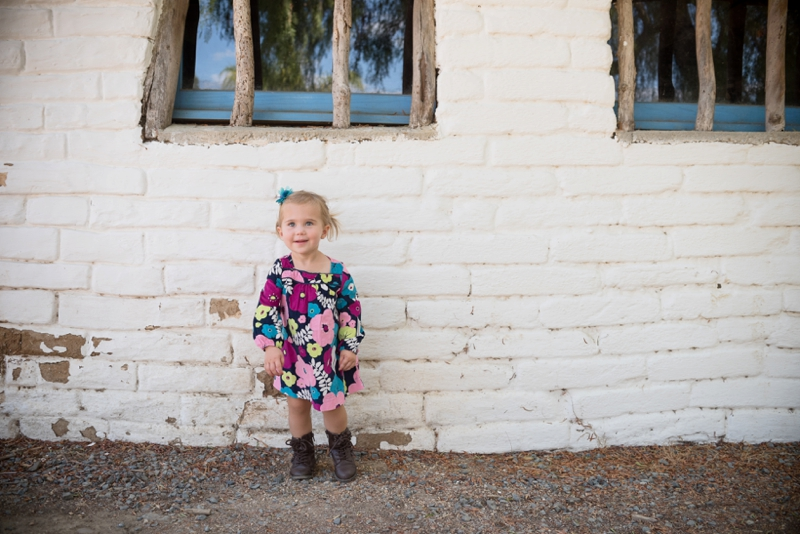 Birthday girl portrait photography from San Diego family photographer Lauren Nygard