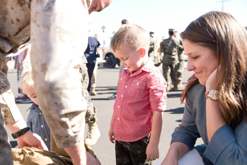 Camp Pendleton Marine Corps Homecoming from San Diego wedding photographer Lauren Nygard