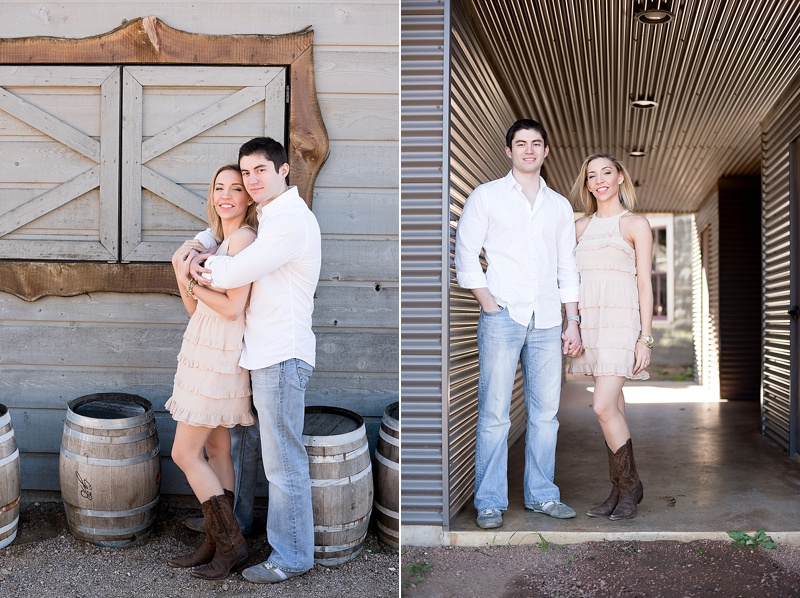 San Antonio Texas engagement session at Garrison Brothers Distillery by Texas wedding photographer Lauren Nygard