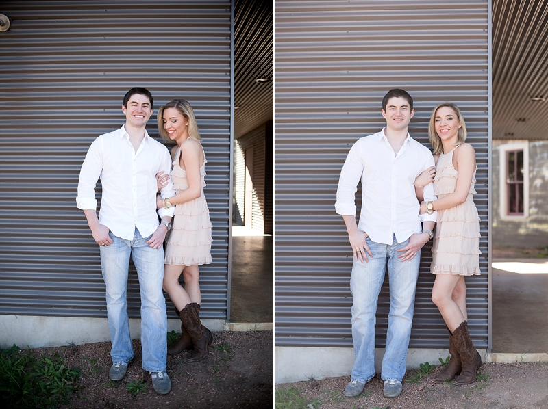 San Antonio Texas engagement session at William Chris Vineyards by Texas wedding photographer Lauren Nygard