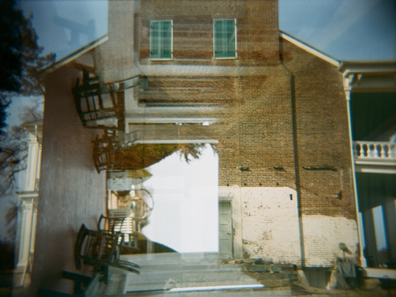 Nashville on a Holga by San Diego film photographer Lauren Nygard