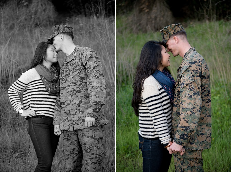 Camp Pendleton homecoming photography from San Diego portrait photographer Lauren Nygard