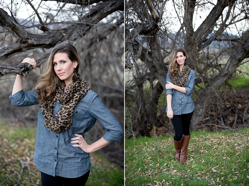 Beauty portraits at Lake Henshaw from San Diego photographer Lauren Nygard