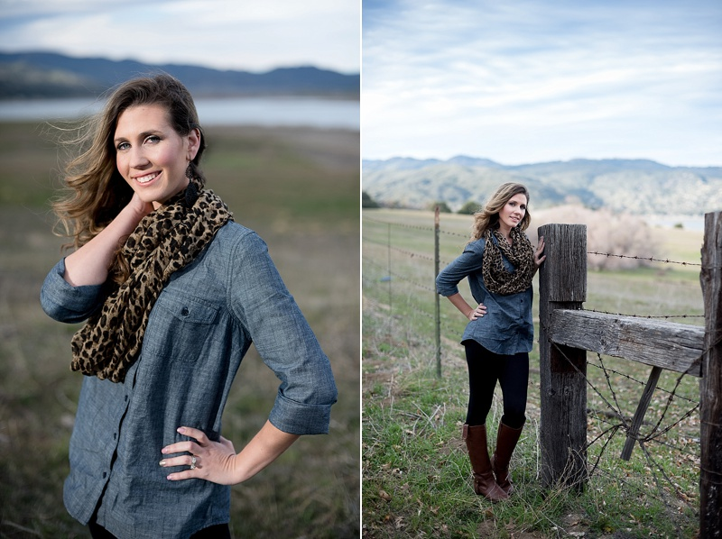 Beauty portraits at Lake Henshaw from San Diego photographer Lauren Nygard