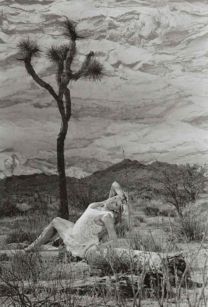 Double exposure in the darkroom by San Diego film photographer Lauren Nygard