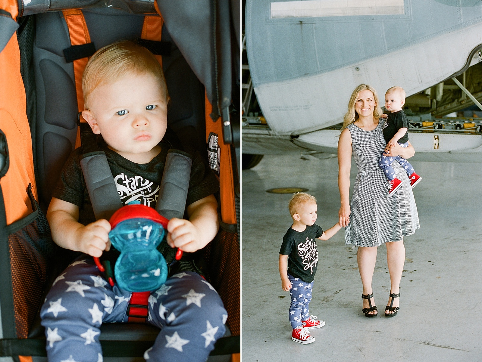 Marine Corps C130 Homecoming at MCAS Miramar from San Diego homecoming photographer Lauren Nygard
