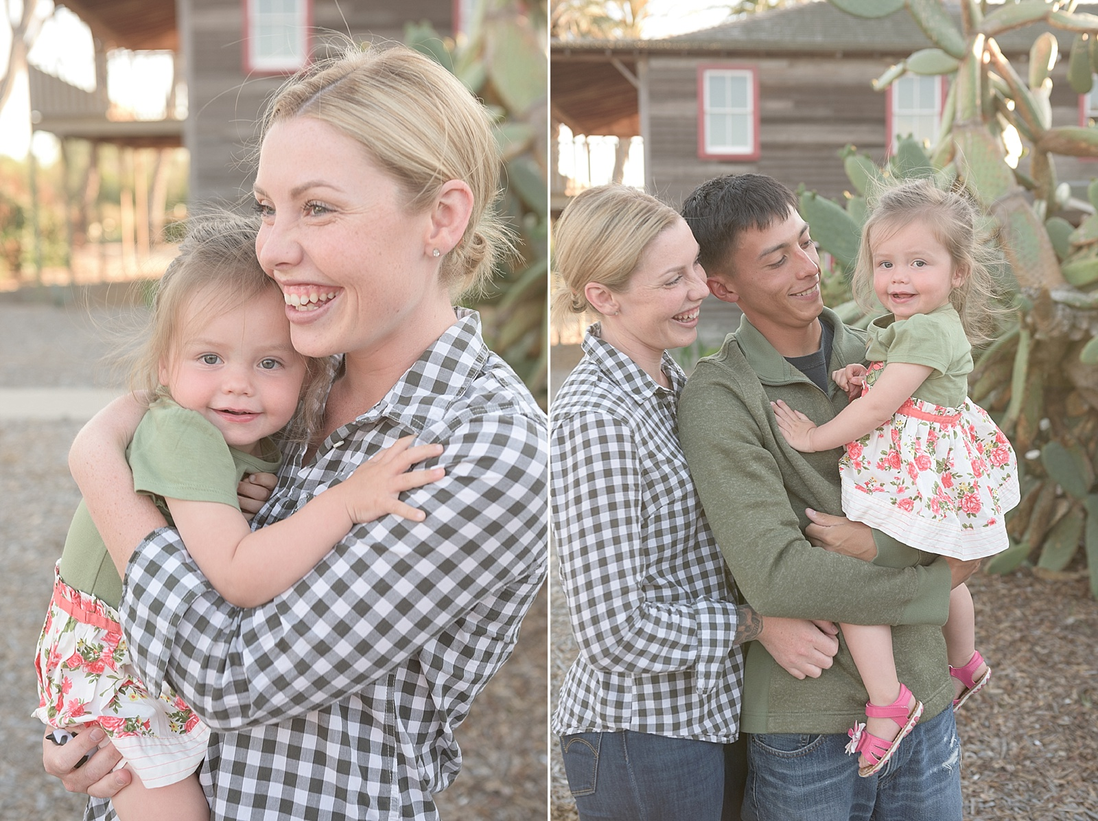 Rustic farm house family photo session from North Carolina family portrait photographer Lauren Nygard